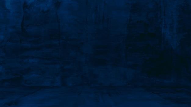 Grungy sfondo blu di cemento naturale o pietra vecchia struttura come un muro modello retrò parete concettuale