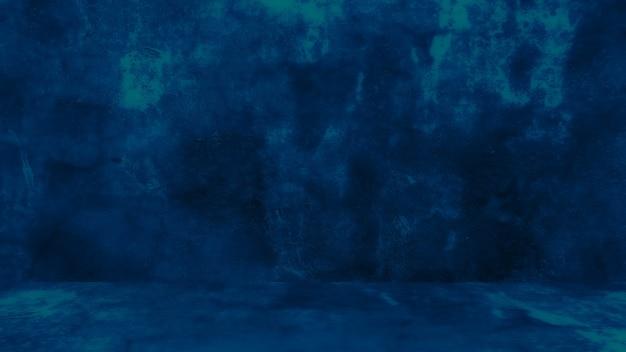 복고풍 패턴 벽 개념적 벽으로 천연 시멘트 또는 석재 오래된 질감의 지저분한 파란색 배경...