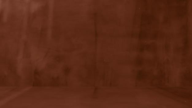 レトロなパターンの壁としての天然セメントまたは石の古いテクスチャの汚れた茶色の背景。概念的な壁のバナー、グランジ、素材、または建設。