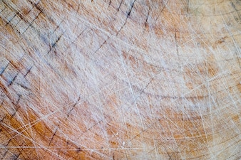 Grungy old wooden cutting board