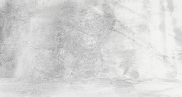 복고풍 패턴 벽으로 천연 시멘트 또는 돌 오래된 질감의 지저분한 흰색 배경. 개념적 벽 배너, 그런 지, 재료 또는 건설.
