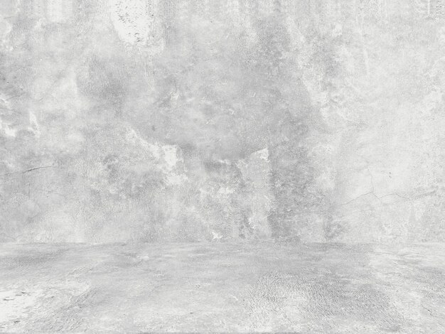 Шероховатый белый фон из натурального цемента
