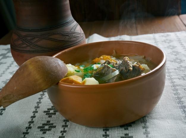 Gryzhanka-ベラルーシの伝統的なスープ