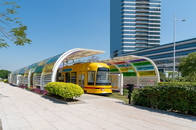 Guangzhou urban light rail train