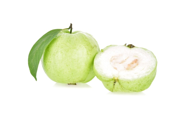 Guava fruit isolated.