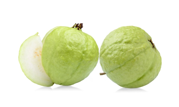 Guava fruit isolated