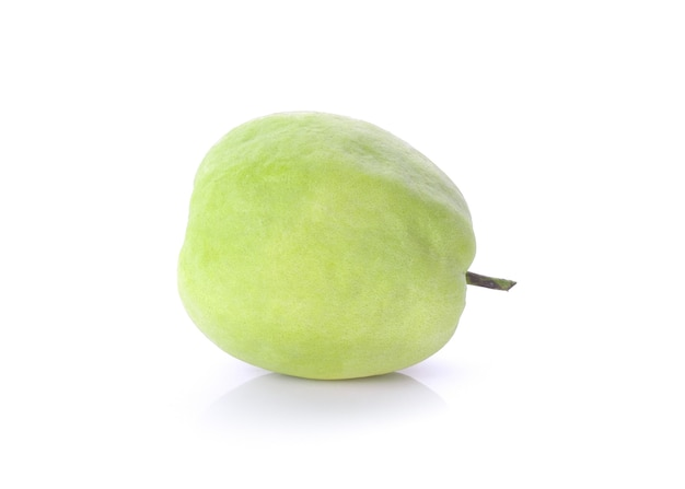 Guava isolated on white background