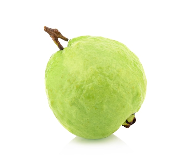 Guava (tropical fruit) isolared