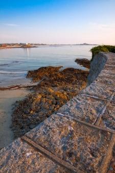 ガーンジー島の海岸hdr
