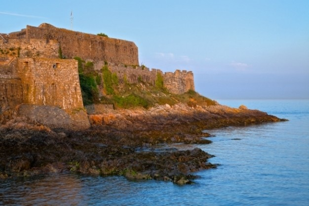 ガーンジー島砦hdr