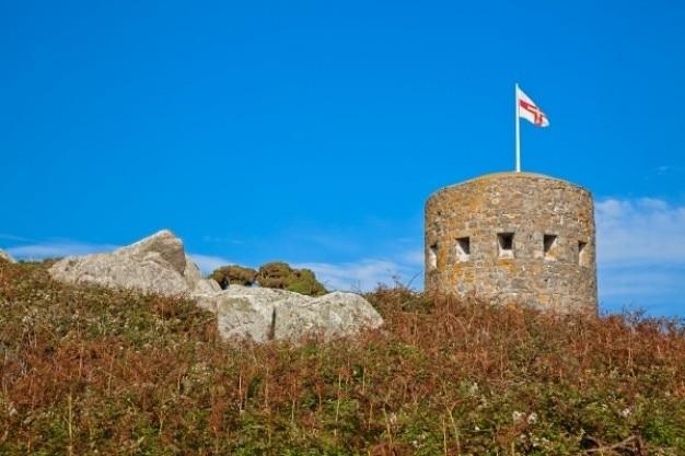 ガーンジー島の塔