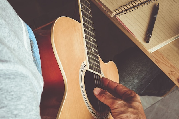 Guitar composing
