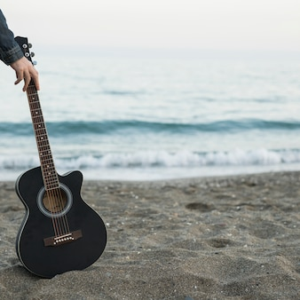 Guitar music outdoors