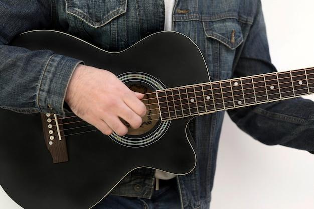 Guitar music outdoors