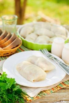 Gulubtsy, cabbage rolls