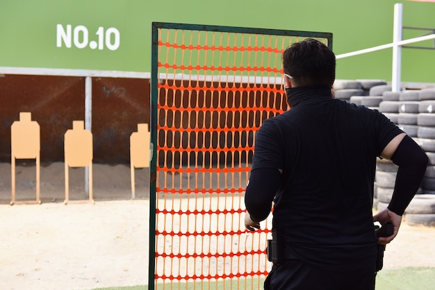 Gun shooting competition
