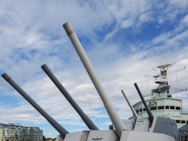 Hmsベルファストの砲塔
