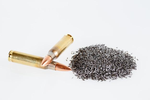 Gunpowder and hunting cartridges caliber 308 win