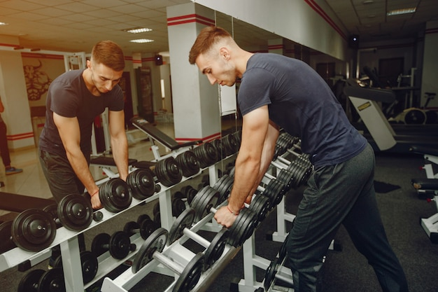 Guy in a gym