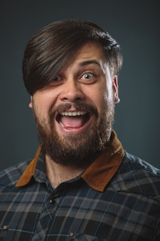 Guy in a plaid shirt