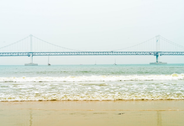 Gwangan bridge in busan