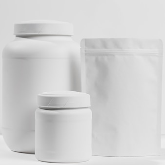 Gym powder supplements