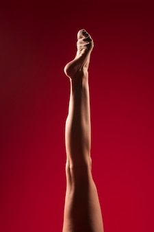 Gymnast feet