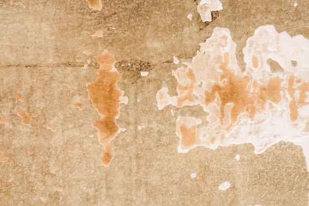 Gypsum wall old paint peeling background.