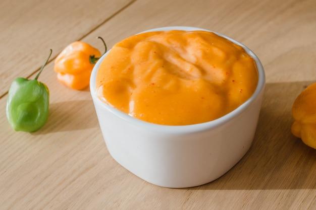 Соус habanero, острый мексиканский соус тако с чили