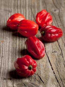 Красный перец чили habanero