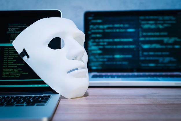 Hackers mask