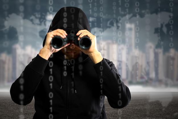 Хакеры-программисты ищут и ищут в них информацию о взломах и данные из учетной записи пользователя.