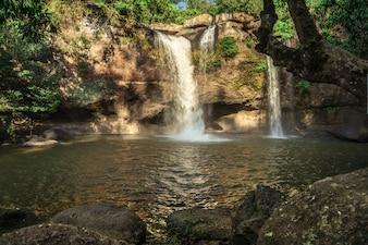 Водопад Haew Suwat Национальный парк Кхао Яй, Накхонратчасима, Таиланд