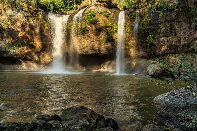 Haew suwat waterfall khao yai national park, nakhon ratchasima, thailand