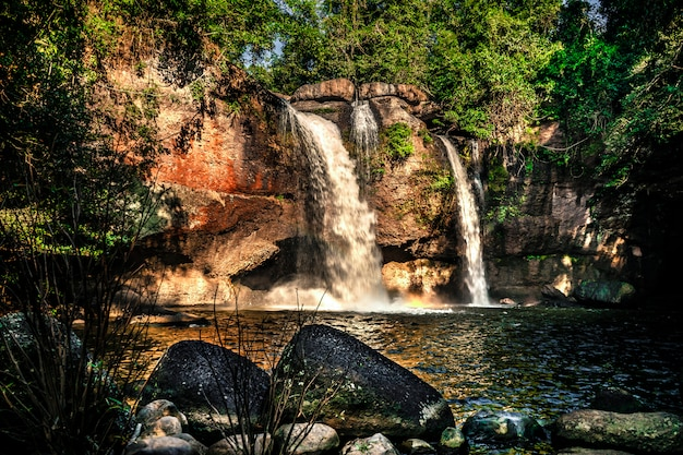 Haew suwat waterfall khao yai national park