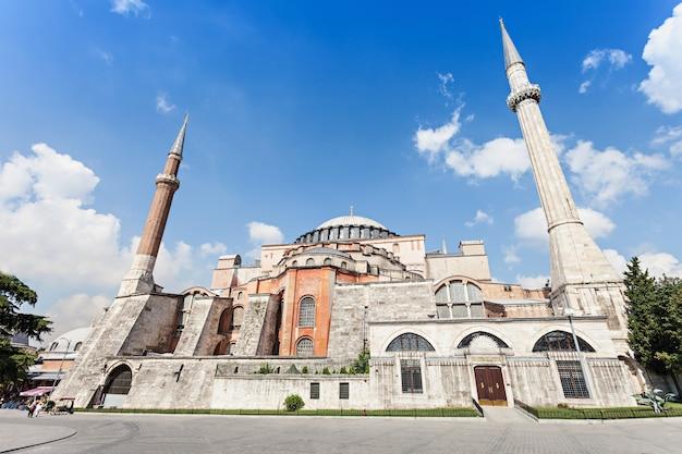 Hagia sophia in istanbul, turkey. hagia sophia is the greatest monument of byzantine culture.