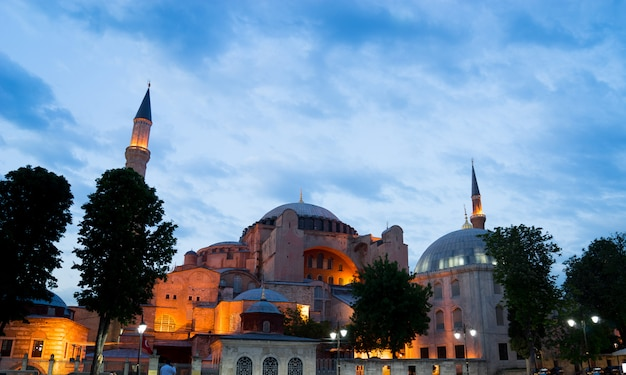 Hagia sophia, sultan ahmed blue mosque, istanbul turkey