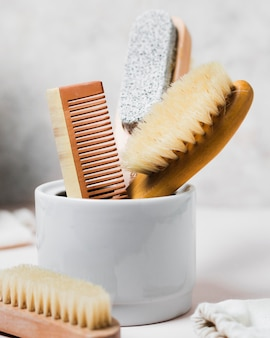 Hair comb and natural hair brush