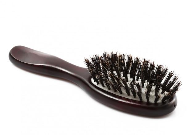 Hairdresser tools on white