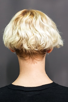 Hairstyle of woman