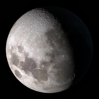 Half moon elements of this image furnished by nasa