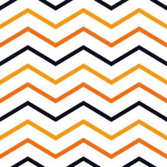 ハロウィーンの色のシームレスなパターンの背景