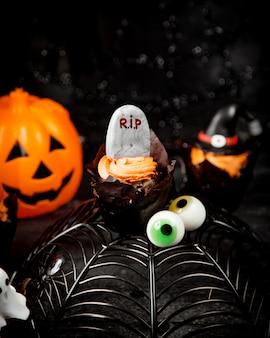 Хэллоуин концепция на столе