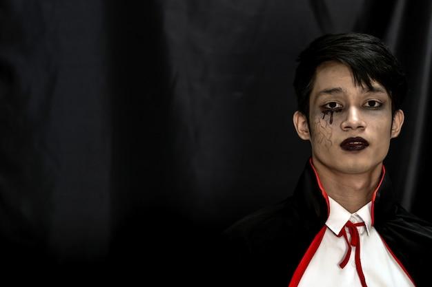 Хеллоуинские костюмы подросток молодой взрослый мальчик в партии