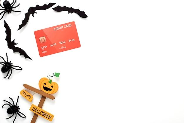 Halloween decoration holiday concept