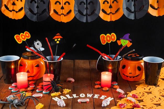 Хэллоуинские украшения для вечеринки