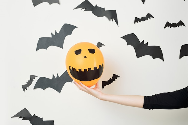 Концепция diy хэллоуина