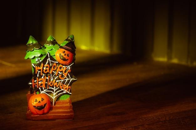 Halloween festival head doll pumpkins  haunted spooky decoration.