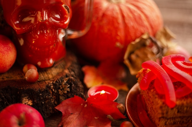 Продовольственная карта хэллоуина