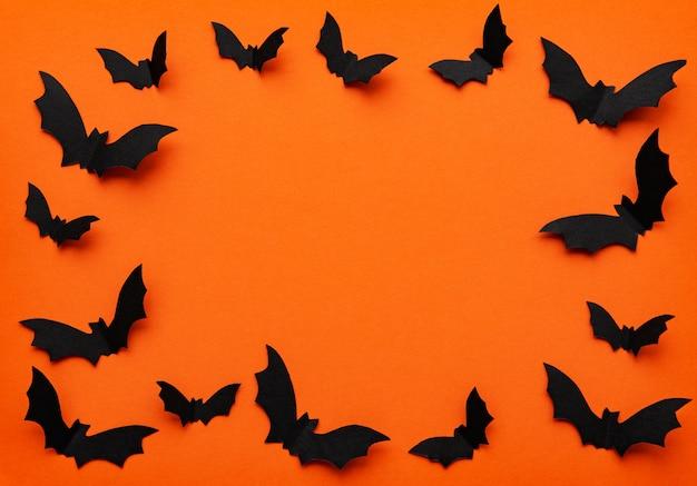 Halloween frame background